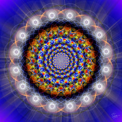 Photograph - Sacred Geometry 436 by Endre Balogh