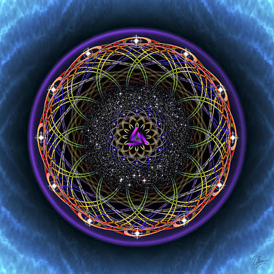 Photograph - Sacred Geometry 437 by Endre Balogh