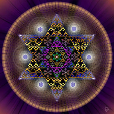 Photograph - Sacred Geometry 441 by Endre Balogh