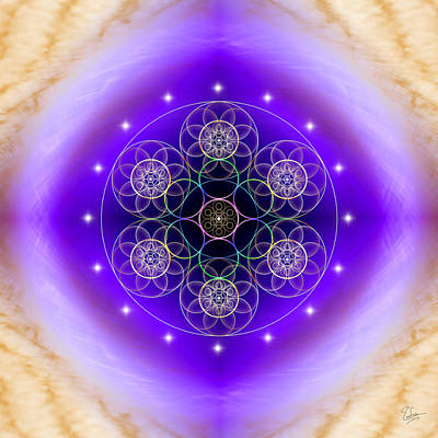 Photograph - Sacred Geometry 456 by Endre Balogh