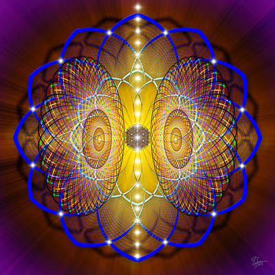 Photograph - Sacred Geometry 459 Number 2 by Endre Balogh