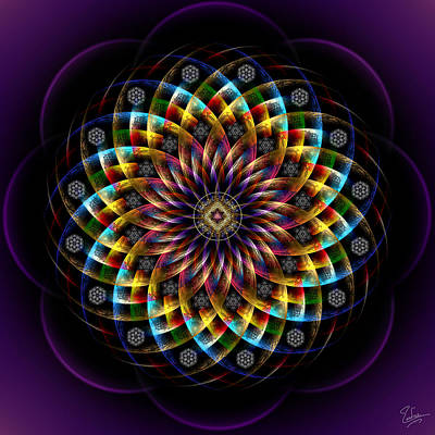 Photograph - Sacred Geometry 460 by Endre Balogh