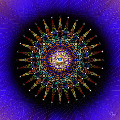 Photograph - Sacred Geometry 470 by Endre Balogh