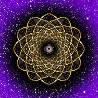 Photograph - Sacred Geometry 473 by Endre Balogh