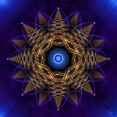 Photograph - Sacred Geometry 478 by Endre Balogh