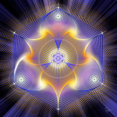 Photograph - Sacred Geometry 520 by Endre Balogh