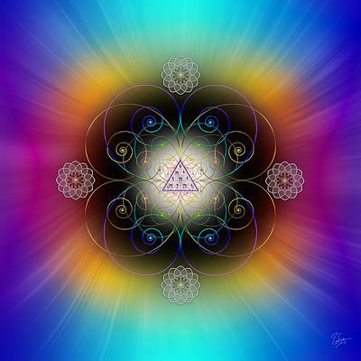 Photograph - Sacred Geometry 521 by Endre Balogh