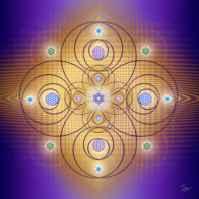 Photograph - Sacred Geometry 522 by Endre Balogh