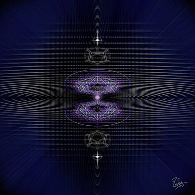 Photograph - Sacred Geometry 523 by Endre Balogh