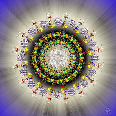 Photograph - Sacred Geometry 524 by Endre Balogh