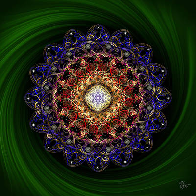 Photograph - Sacred Geometry 525 by Endre Balogh