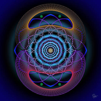 Photograph - Sacred Geometry 527 by Endre Balogh