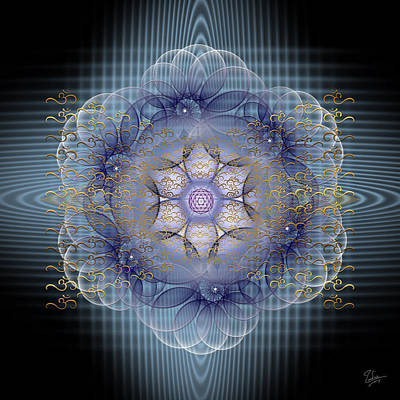 Digital Art - Sacred Geometry 532 by Endre Balogh