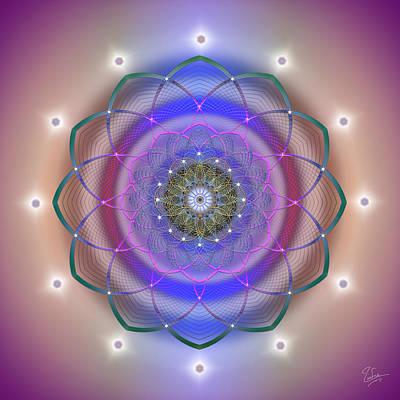 Digital Art - Sacred Geometry 560 by Endre Balogh