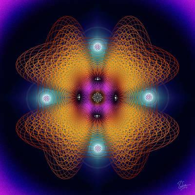 Digital Art - Sacred Geometry 584 by Endre Balogh