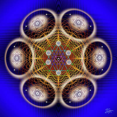 Photograph - Sacred Geometry 616 by Endre Balogh