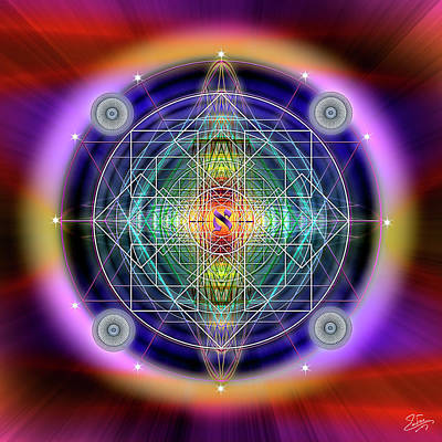 Photograph - Sacred Geometry 630 by Endre Balogh