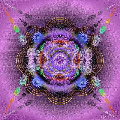 Photograph - Sacred Geometry 634 by Endre Balogh