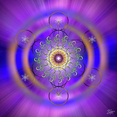 Digital Art - Sacred Geometry 658 by Endre Balogh