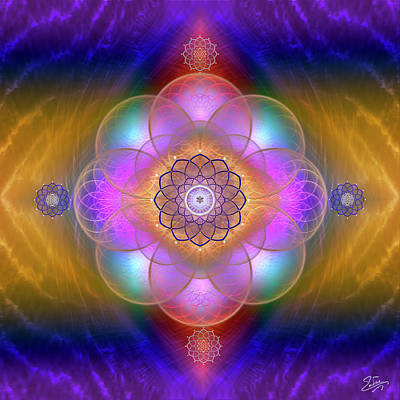 Photograph - Sacred Geometry 669 by Endre Balogh