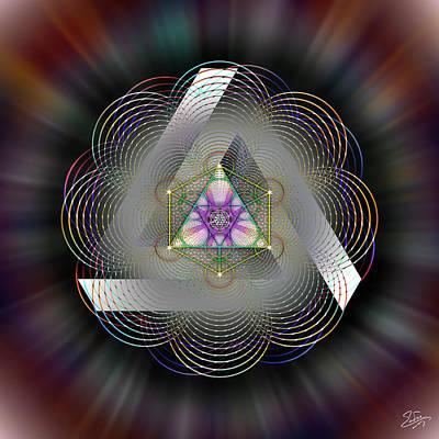 Digital Art - Sacred Geometry 696 by Endre Balogh
