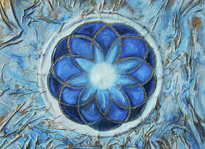 Mixed Media - Sacred Geometry by Angela Stout