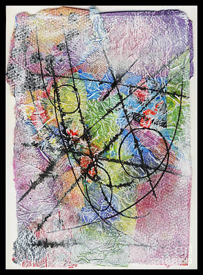 Mixed Media - Sacred Geometry by Cyndi Lavin