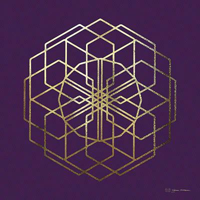 Digital Art - Sacred Geometry - Philosopher's Stone No. 5 by Serge Averbukh