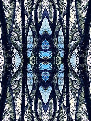 Digital Art - Sacred Grove 1 by Sarah Loft