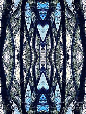 Digital Art - Sacred Grove 2 by Sarah Loft