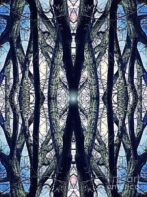 Digital Art - Sacred Grove 4 by Sarah Loft