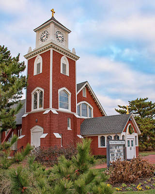Photograph - Sacred Heart Church - Bay Head, Nj by Kristia Adams