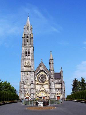 Stained Glass Ireland Photograph - Sacred Heart Church Roscommon Ireland by Teresa Mucha