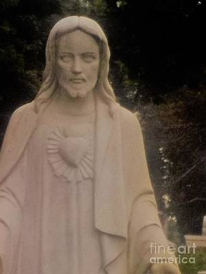 Photograph - Sacred Heart by Cindy Fleener