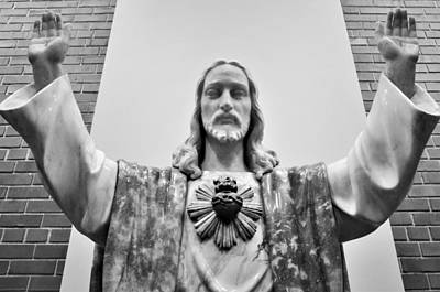 Photograph - Sacred Heart Of Jesus by Jeanette O'Toole