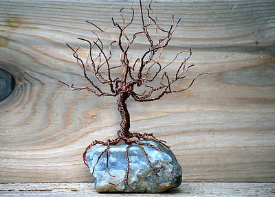 Sculpture - Sacred Oak by Gwendolyn Frazier