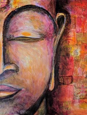 Painting - Sacred Silence by Chris Burton