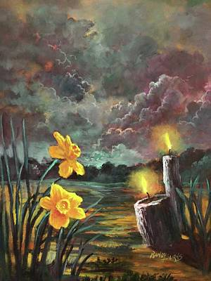 Painting - Sacred Silence by Randol Burns