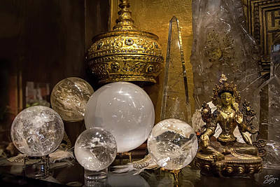 Photograph - Sacred Space Shelf by Endre Balogh