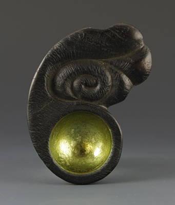 Sacred Spoon Of The Pemaquid Rock People Art Print