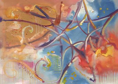 Painting - Sacred Star by Sheri Jo Posselt