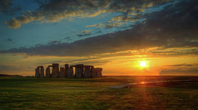 Photograph - Sacred Sunset by Michael Niessen