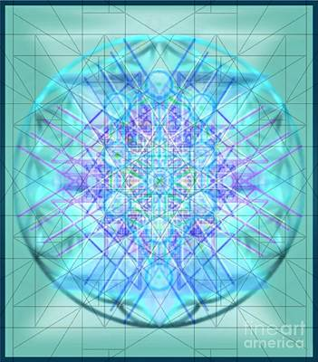 Digital Art - Sacred Symbols Out Of The Void 3b1 by Christopher Pringer
