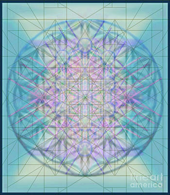 Digital Art - Sacred Symbols Out Of The Void 4b by Christopher Pringer