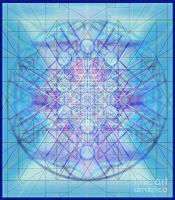 Digital Art - Sacred Symbols Out Of The Void A3c by Christopher Pringer