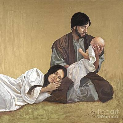 Painting - Sacred Trust by GayLynn Ribeira