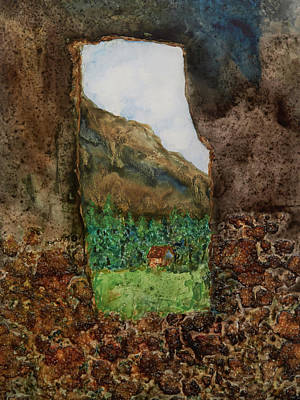 Painting - Sacred Valley by Patricia Beebe