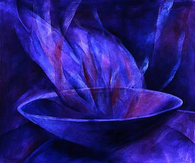 Sacred Vessel II Art Print by Sue Reed