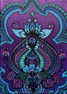 Painting - Sacred Vision by Eleanor Hofer