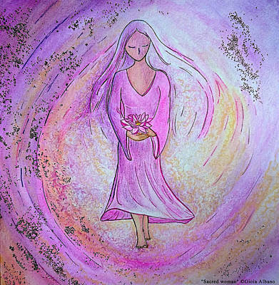 Painting - Sacred Woman by Gioia Albano